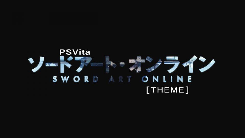 Vita SAO Theme title